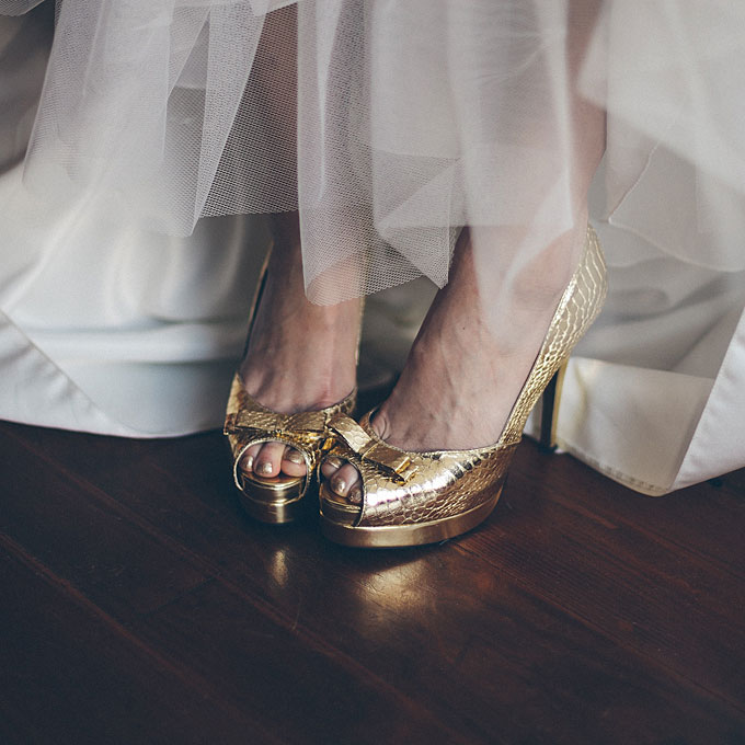 (the Crazy Disaster Of) Wedding Day Shoes