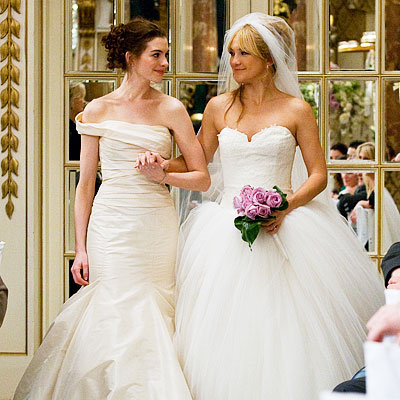 Soft White And Ivory Vera Wang Gowns In Bride Wars